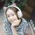音氏Cinnsi/猫耳ヘッドホンヘッドセットは、無線Bluetooth音楽子供たちの英語の聴力学習があります。女子学生の携帯電話は、震えて生放送します。