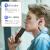 SONY(SONY)WI-C 300 Bluetoothイヤホンステレオネック型携帯電話線制御通話ヘッドフォンブラック