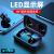 ファーウェイAndroid汎用スマートフォン対双耳通話型ヘッドホンミニ超小型耳栓はT 20 Sブラックアップグレード-帯電量が顕著です。