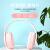 X.N.ヘッドセットBluetoothヘッドフォン全巻の耳ゲーム音楽ランニング運動ノズキー有線無線両用携帯電話パソコン通用男女生ピンク